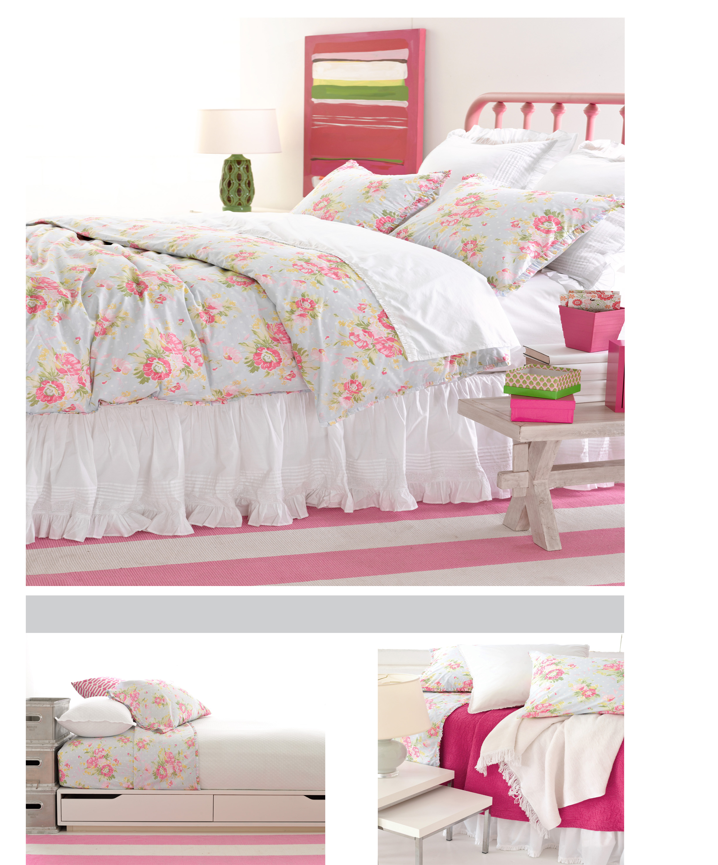 Bella Blue Bedding by Pine Cone Hill